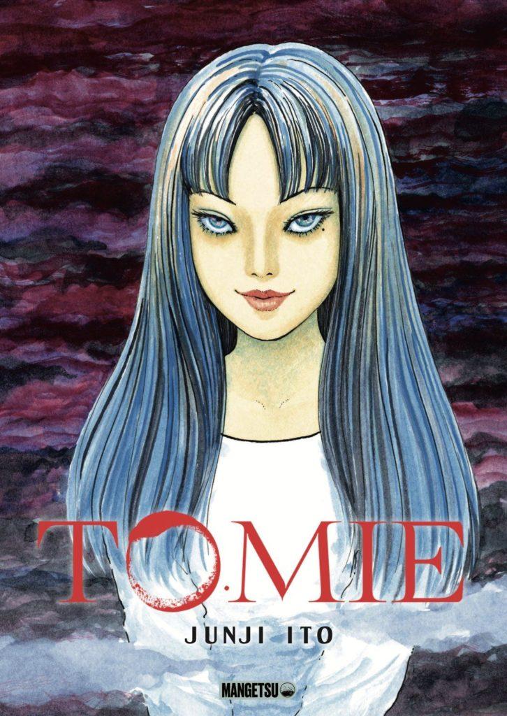 Couverture de l'intégrale de Tomié chez Mangetsu