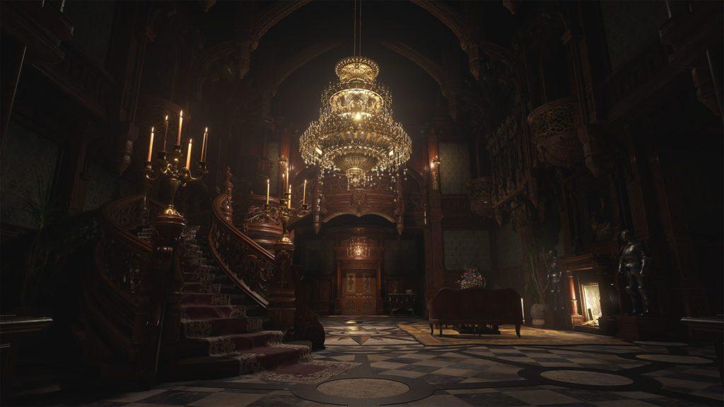 Chateau de Dimitrescu Resident Evil Village