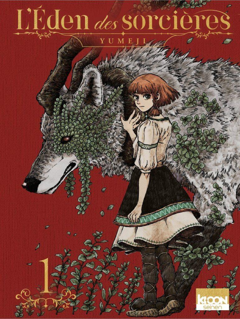 Couverture du tome 1 de L'eden des sorcières chez Ki-oon