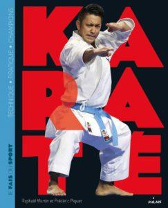 Karaté, éditions Milan : couverture