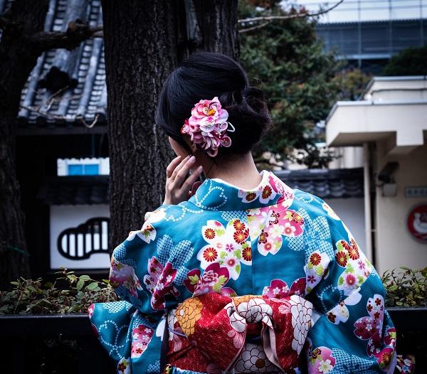 la femem traditionnelle japonaise